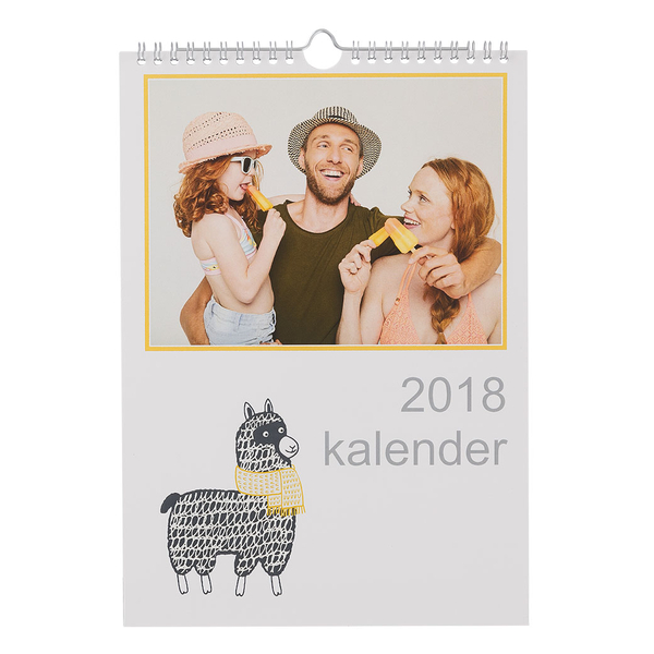gedrukte jaarkalender a4