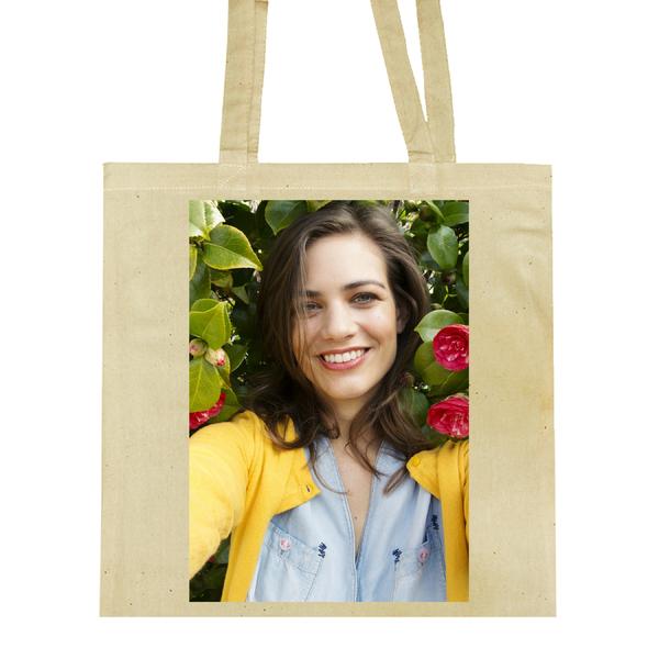 Tas Ontwerpen Hema : Foto op een linnen tas bedrukken hema