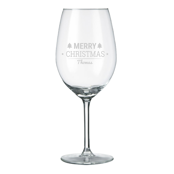 Rode Wijnglas Met Naam