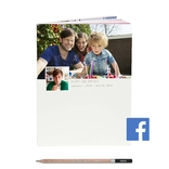 socialbook facebook met potlood