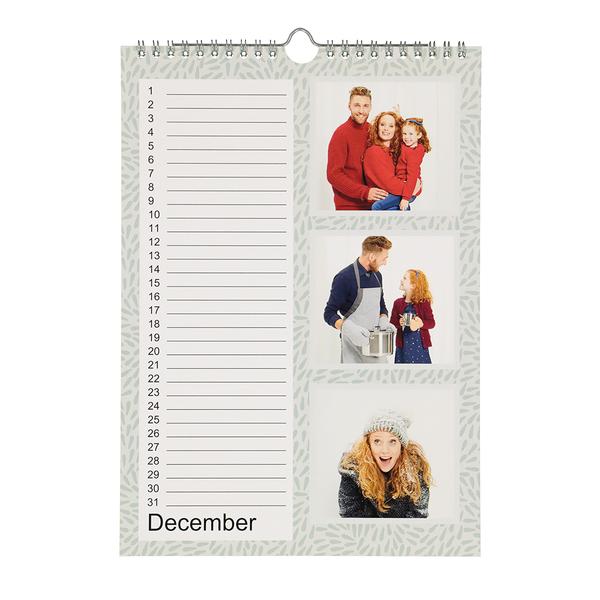 Verjaardag Kalender.Gedrukte Verjaardagskalender A4