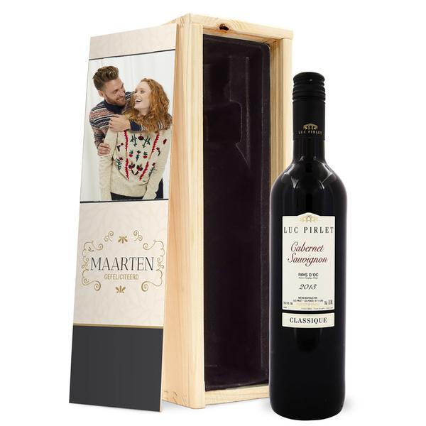 Rode Wijn In Kistje